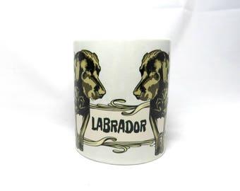 Labrador Dog Mug, Labrador Retriever, Labrador Gift Items