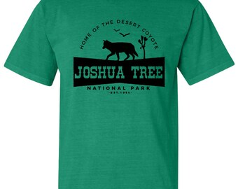 Joshua Tree National Park Adventure Comfort Colors TShirt