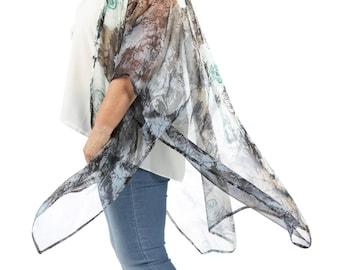 Harper 'Blue Rose' Kimono Cover-up