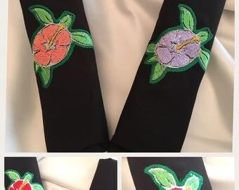 Embroidered Handmade Seatbelt Covers