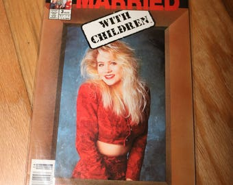 Kelly Bundy Poster Married With Children Comic #3 Vintage Christina Applegate