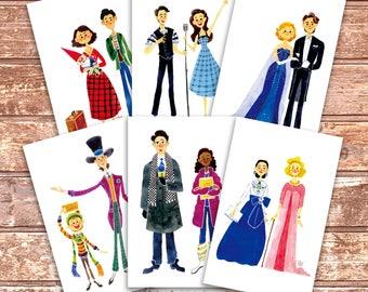5.5x8.5 Print : Broadway Musical Fanart
