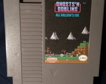 Ghosts 'N Goblins All Hallows Eve NES Game