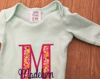 Custom baby gown