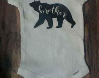 Brother Bear Onesie