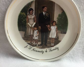 J.F. Kennedy and Family Collector Plate (#028)
