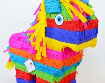 Small colorful Burro-Piñata