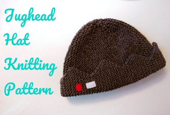 Knitting Pattern Jughead Hat : Jugheads Hat Knitting PATTERN