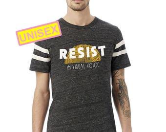 Resist Football Tee