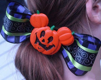 Mickey's Not So Scary Halloween Inspired Bow (Free Shipping!)