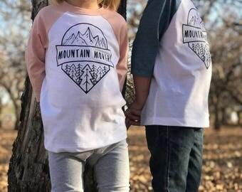 Mountain Mover Baseball Toddler T-Shirts