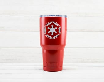 Yeti Cup, Star Wars Galactic Empire Etched Yeti Mugs, Galactic Empire Birthday Gift, Custom Yeti Cups With Galactic Empire Engraved