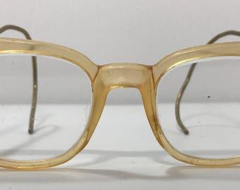 20% OFF | 1950's | Vintage Non-prescription Glasses | around the ear temples