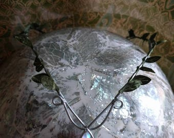 Woodland Crown - Fairy Crown - Elven Circlet - Forest Tiara