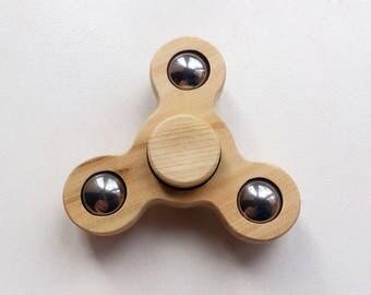 Juniper spinner - Hand Spinner - Wood Hand Spinner - Custom Spinner - Gift For Him - Fidget Spinner - Handmade Spinner - Tri arms Spinner