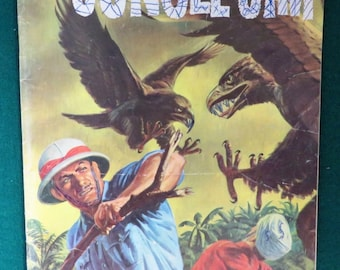 Jungle Jim Comic Book, Vintage Dell Comics Vol. 1, No. 12, 1957, Silver Age Comic Book