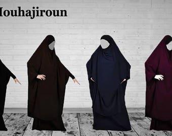 Jilbab 2 pices mouhajiroun