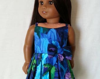Pleated Skirt Dress for 18 inch Dolls such as American Girl Dolls and My Life As Dolls