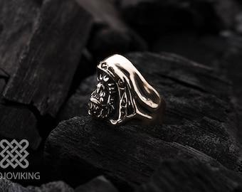 Bronze Horde Ring by Mojoviking   Gul'dan Horde Jewelry