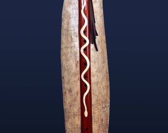 Native American Style Collector's Edition One of a Kind Flute - Key of Low C, tuned to 432Hz - Amazing sound!!