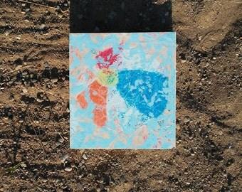 Beach Ball Crinkle Sign