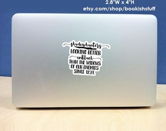 Shadowhunters Sticker, Mortal Instruments Sticker, Bookish Stickers, TMI Sticker
