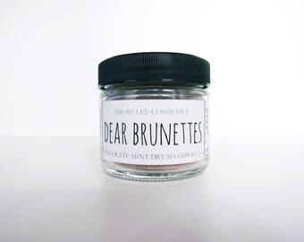 Dear Brunettes Dry Shampoo