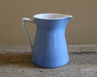 Blue Bavarian Porcelain Creamer