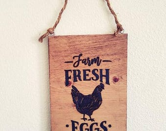 Rustic Farm Fresh Sign