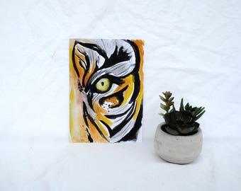 Tiger Original Watercolor Painting