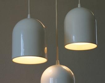 1980's 3 RAAK planter pendant lamps | 3 suspensions