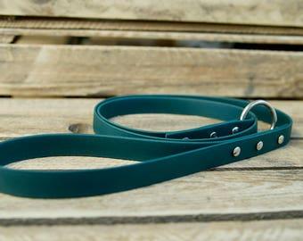 Handmade 4ft Biothane Slip Dog Lead / Dog Leash / Vegan / Two Dogs & Co