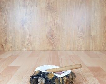 Ashtray - Turtle ashtray.