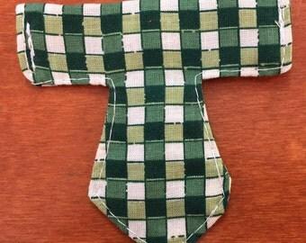 Tie - shaped brush