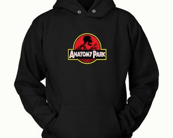 Anatomy Park Hoodie ( All Sizes ) - Rick & Morty SweatShirt – Awesome Rick and Morty Gift - Funny Rick and Morty Hoodie  Anatomy Park