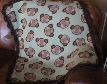 Monkey Baby, Toddler Blanket