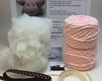 SipSip Pig Crochet Kit