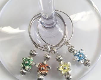 Wine Glass Charms (Set of 4)