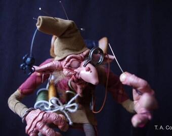 OOAK Fantasy art Doll  House Hob/Elder Brownie