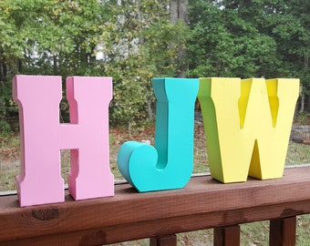 Small Decorative Metal Letters Small Metal Letters  Etsy