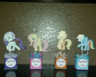 My little pony (INSPIRED) centerpieces