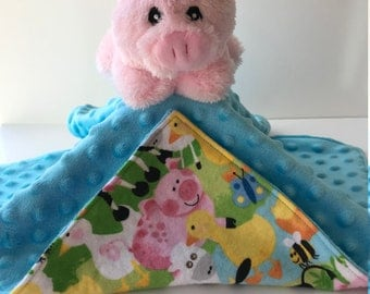 Ultra Plush and Cuddly Little Pig Lovey