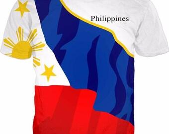 Philippines Men's Flag Tee