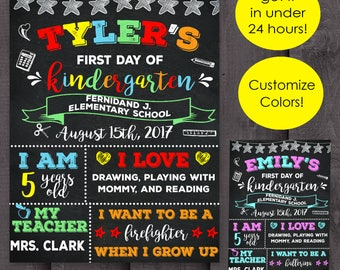First day of school chalkboard printable, back to school sign, 1st day of school, Back to school chalkboard sign, Back to school chalkboard,