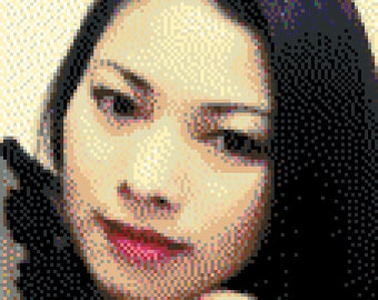 Custom Pixel Art Portrait - 30cm x 40cm (16,950 Beads)