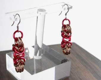 Byzantine Chain Earrings