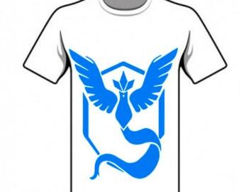 T-Shirt Mystic - Digital, PNG, img, Pokemon, team