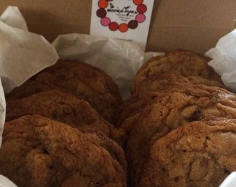 Double Chocolate Chip Pecan Cookies