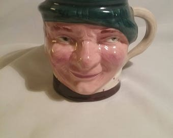 "Jock Character Toby Jug Lancaster Sandland Hanley Design B13215 mug 1940""s"