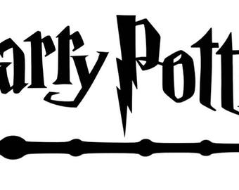 Harry Potter Wand Decal